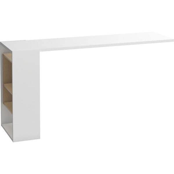 Voelkel 4 You Collection White Wood Dressing Table/Desk Extension