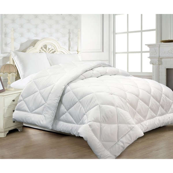 Microfiber Seersucker Down Alternative Comforter