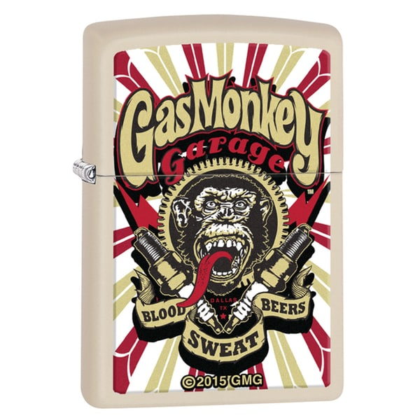 Zippo Gas Monkey Garage Logo Windproof Lighter