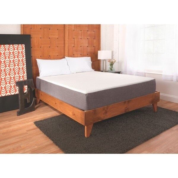 eLuxurySupply 10-inch Queen-size Gel Memory Foam Mattress