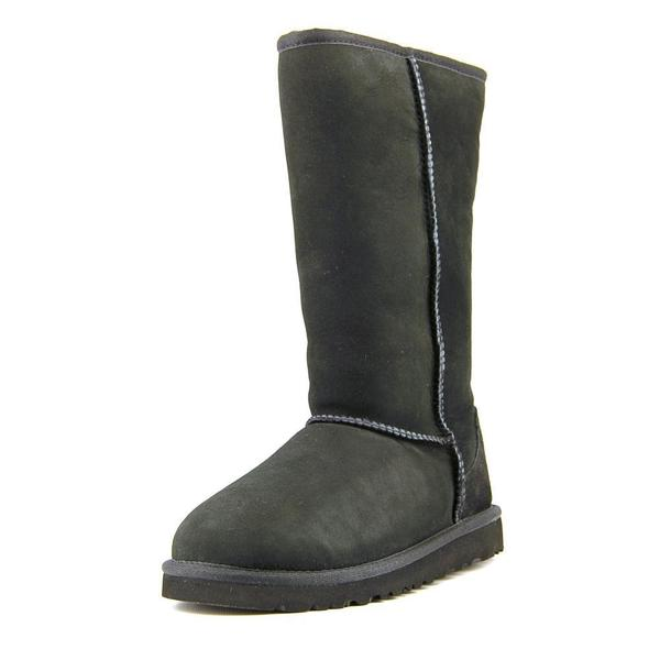 Ugg Australia Girls' Kids Classic Tall Black Suede Boots