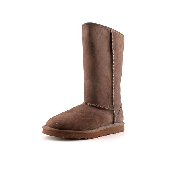 Ugg Australia Girl's 'Kids Classic Tall' Regular Brown Suede Boots