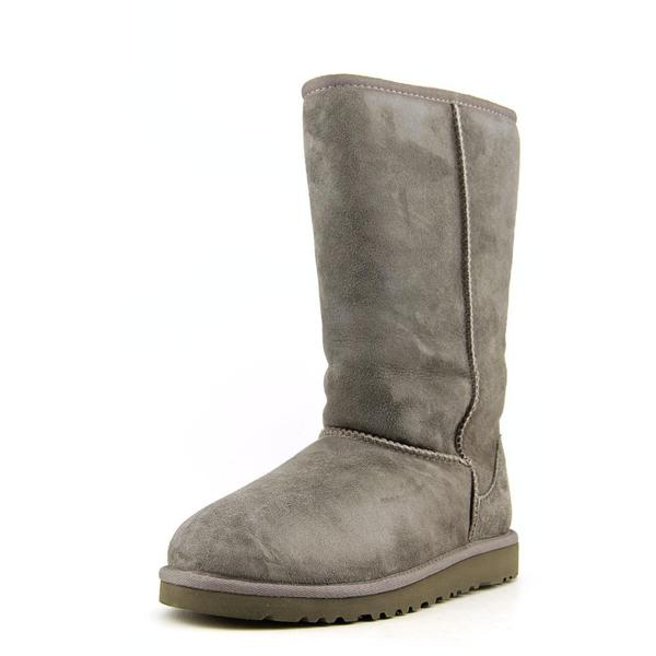 Ugg Australia Girls' Kids Classic Tall Grey Regular Suede Boots