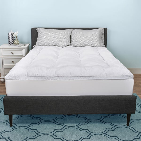 Select Luxury Shredded Gel Memory Foam and Fiber Filled 3-inch Mattress Topper