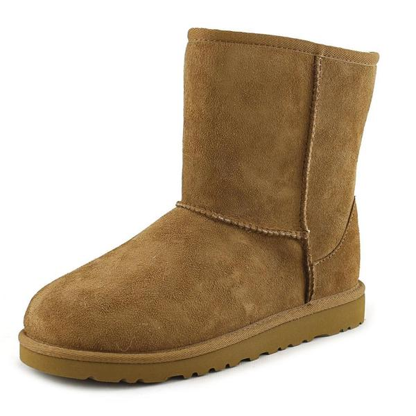 Ugg Australia Girls' Kids Classic Tan Suede Boots