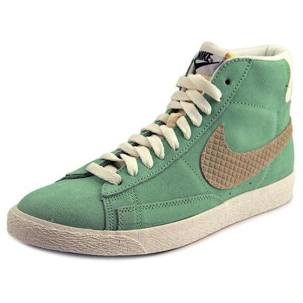 Nike Men's Blazer Mid Prm Green Synthetic Athletic Shoes