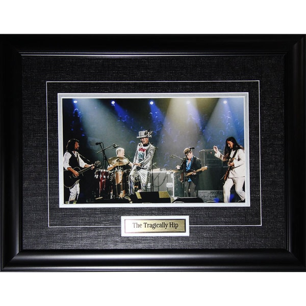 The Tragically Hip 8-inch x 12-inch Framed Photograph