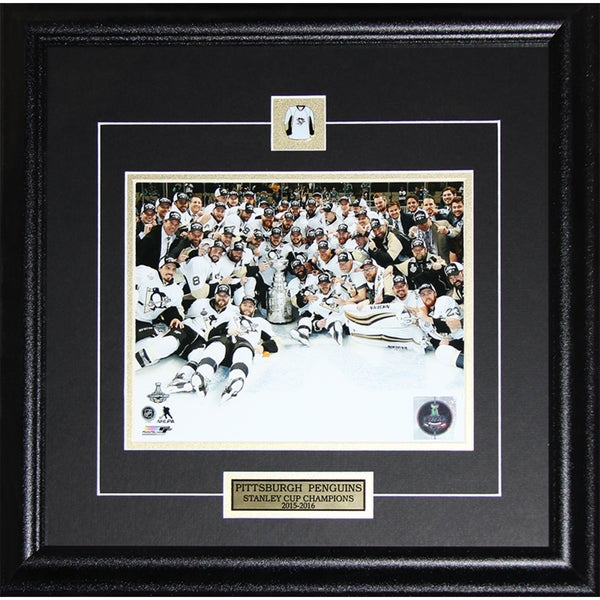2016 Pittsburgh Penguins Stanley Cup Champions 8-inch x10-inch Frame Photo 21769893