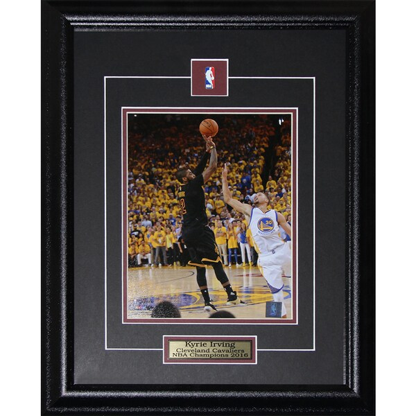 Kyrie Irving Cleveland Cavaliers 2016 NBA Finals 8x10 Framed Picture 21771099