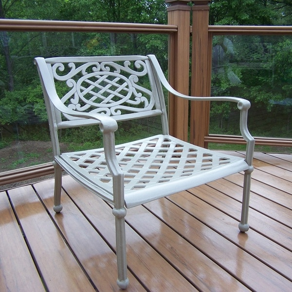 Saratoga Cast Aluminum Deep-seat Arm Chair