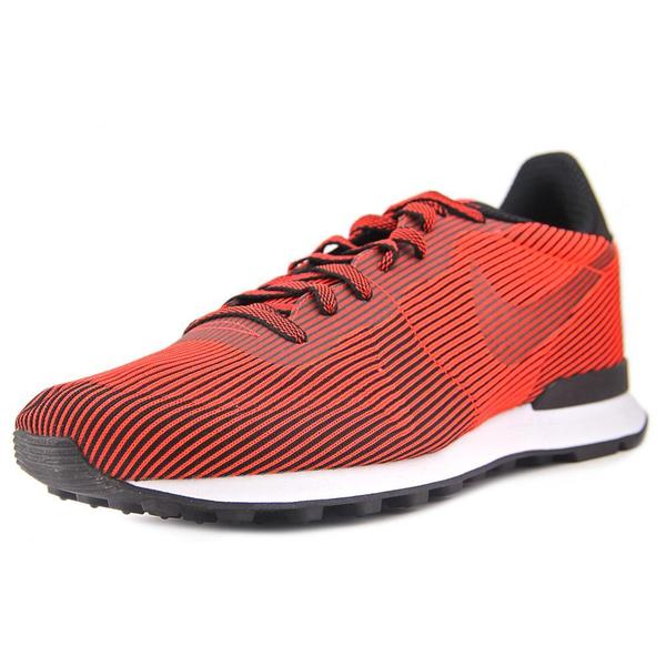 Nike Men's Internationalist Red Synthetic Fabric Athletic Shoes