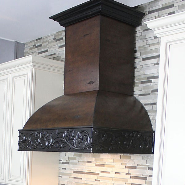 ZLINE 30 in. 900 CFM Designer Series Wooden Wall Mount Range Hood (393AH-30) 21779540