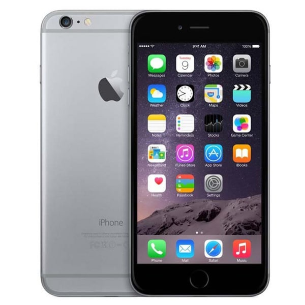 Refurbished Unlocked Apple iPhone 6 Space Grey 16 GB