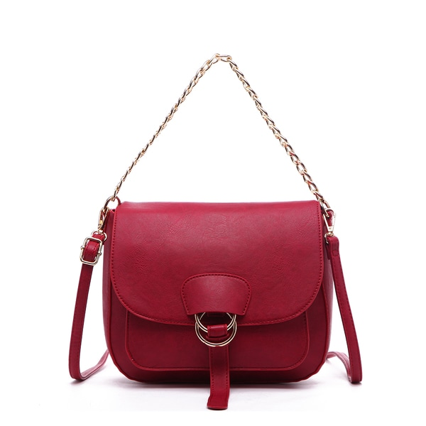 Pink Haley Janessa Chain Crossbody Bag