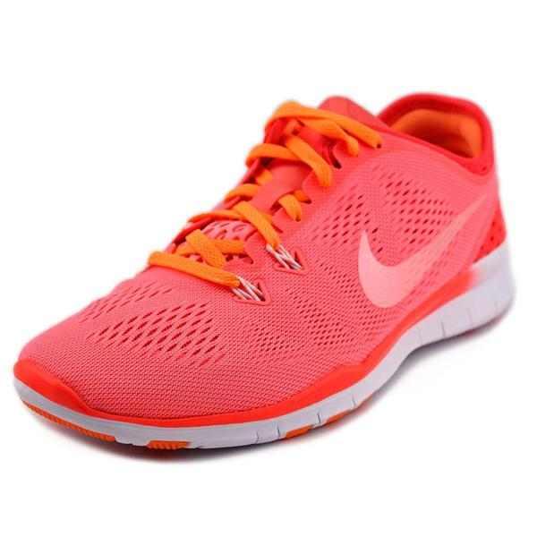 Nike Women's Free 5.0 TR Fit 5 Pink Synthetic Athletic Shoes