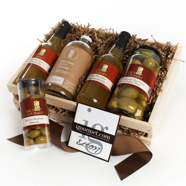 igourmet The Martini Lovers Gift Crate