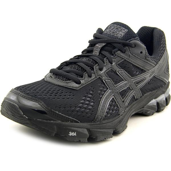 Asics Women's 'GT-1000 4' Black Synthetic Athletic Shoes