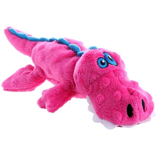 GoDog Pink Gator With Chew Guard Small