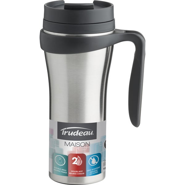 Trudeau 0872030 16 Oz Paige Double Wall Insulated Travel Mug 21799818