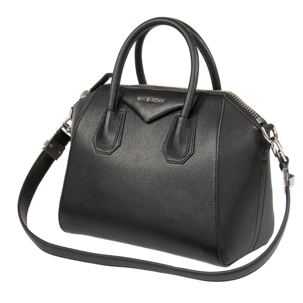 Givenchy Antigona Small Matte Black Satchel Handbag