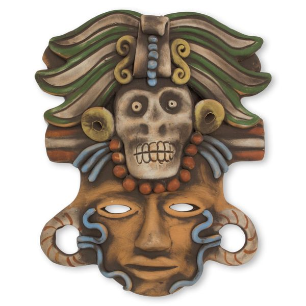Death Cult Priest Ceramic Mask (Mexico)
