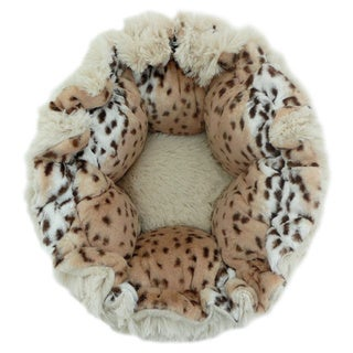 Blondie Aspen Snow Leopard Pet Cuddle Pod