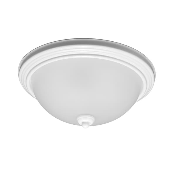Sea Gull Ceiling Flush Mount 3 Light White Ceiling Fixture