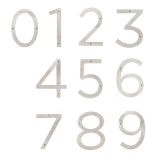 "Sure-Loc Stainless-steel House Numbers - 6""H"