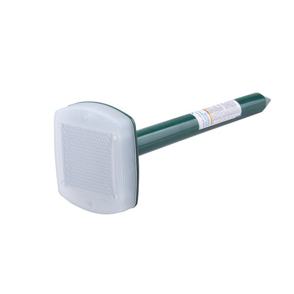 Sontax Blue Gree/White Solar-powered Rechargeable Mole Chaser Repeller