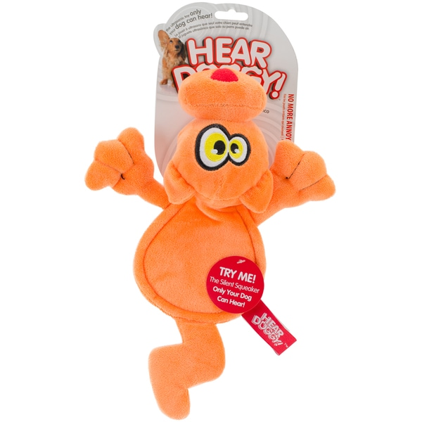 Hear Doggy Orange Cat Flattie