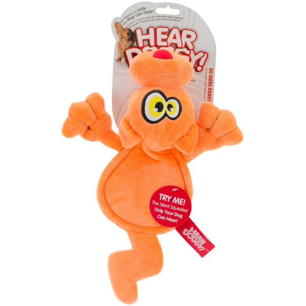 Hear Doggy Orange Cat Flattie