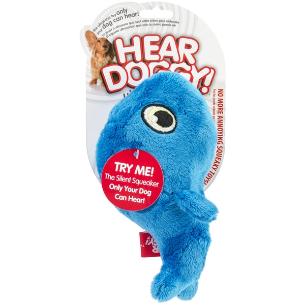 Hear Doggy Whale Plush Toy Small