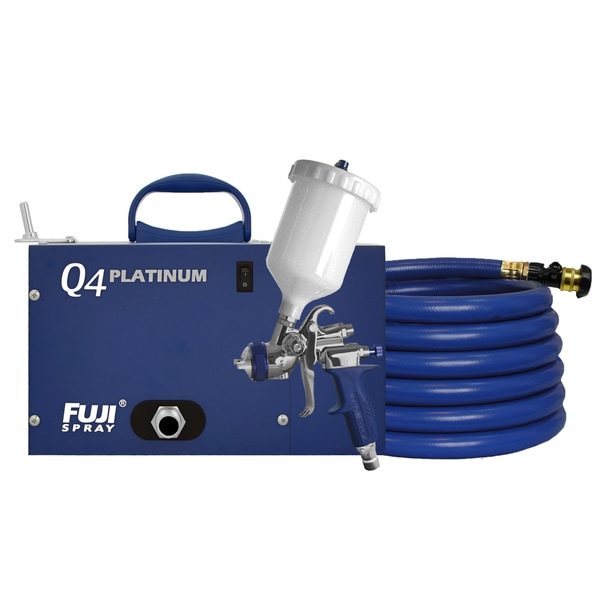 Fuji 2894-T75G Q4 Quiet HVLP Spray System 21811139