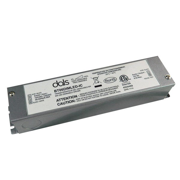ICC Rated 6W Dimmable LED Driver