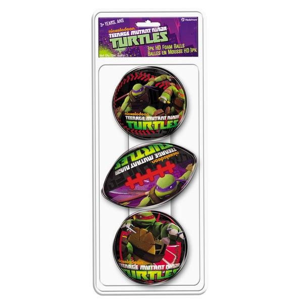 3 Pack Teenage Mutant Ninja Turtles Foam Ball Set 21812413