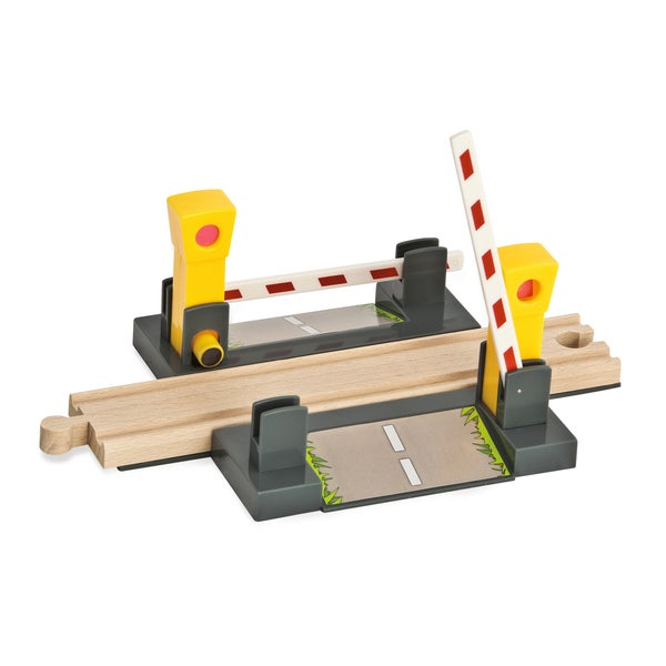 Eichhorn 4 Piece Wooden Train Level Crossing