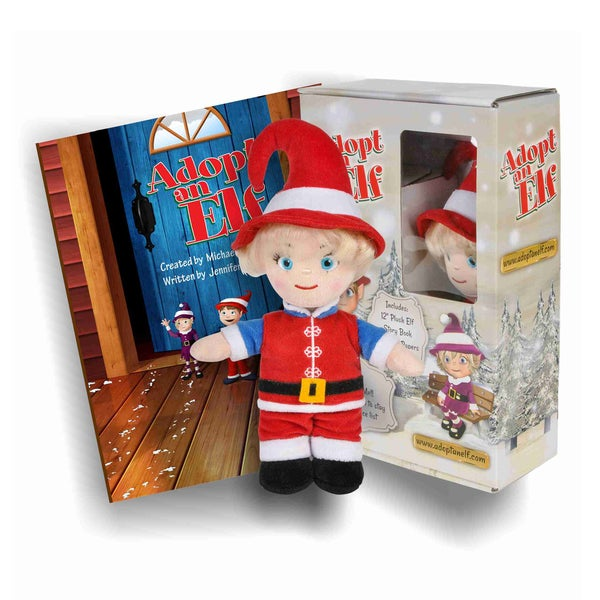 Imaginary Kidz Adopt an Elf Boy Gift Set