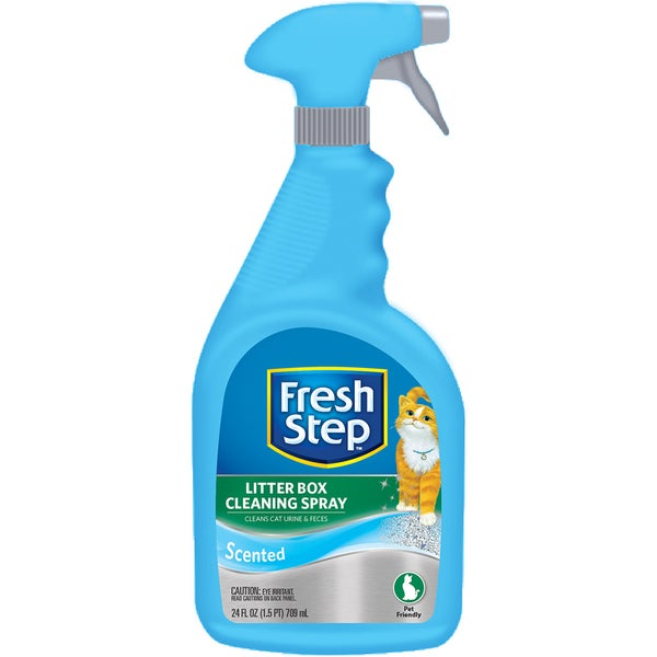Fresh Step Litter Box Cleaning Spray