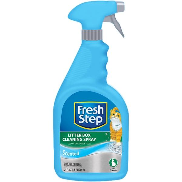 Fresh Step Litter Box Cleaning Spray