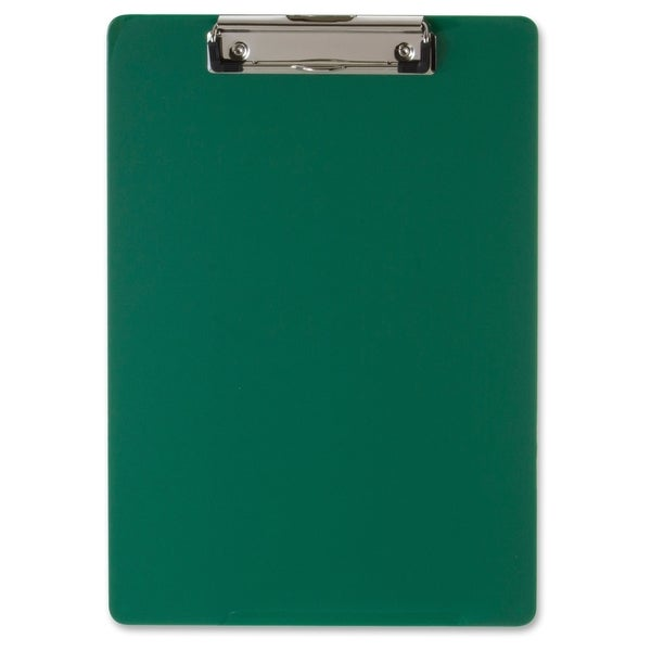 OIC Low-profile Plastic Clipboard - (1/Each)
