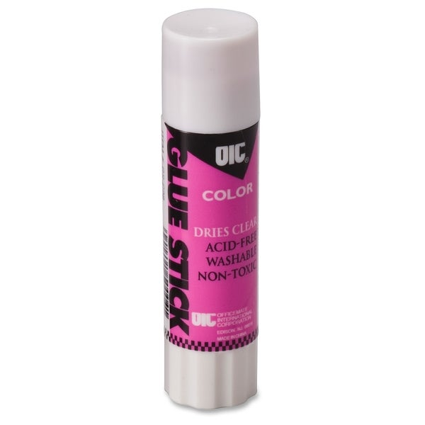 OIC Disappearing Color Glue Stick - (1/Each)