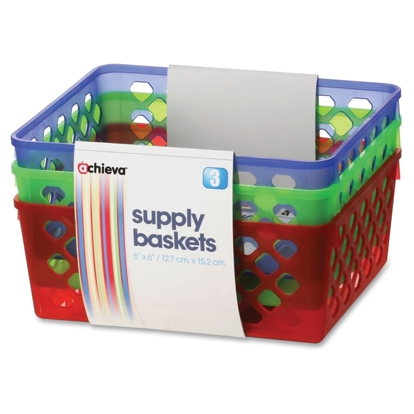 OIC Achieva Supply Baskets - (3/Pack)