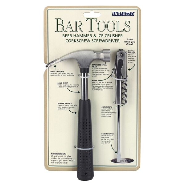 Barbuzzo UTU3BR0045 Mini Bar Tools