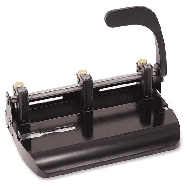 OIC Heavy-Duty Adjustable 2-3 Hole Punch - (1/Each)