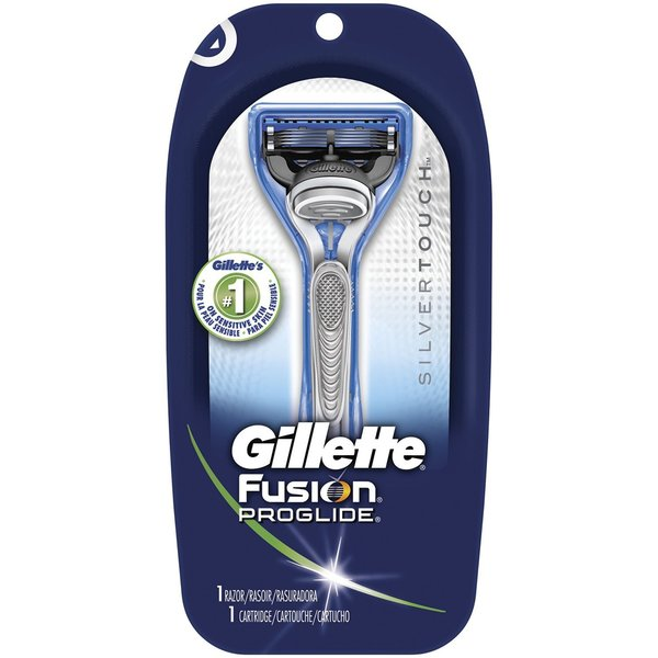 Gillette Fusion Proglide Silvertouch Manual Men's Razor