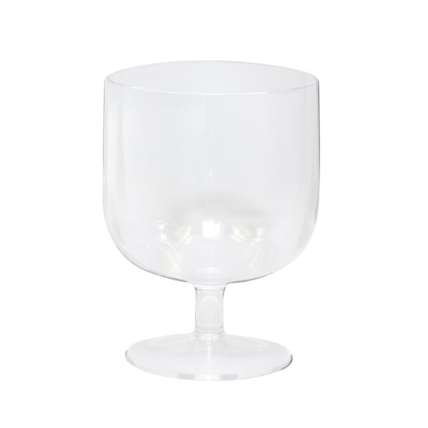 Epicureanist Clear Plastic Party Wine Glasses (Case of 24)