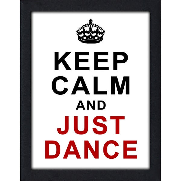 "FramedCanvasArt Studio ""Just Dance"" Framed Wall Art"