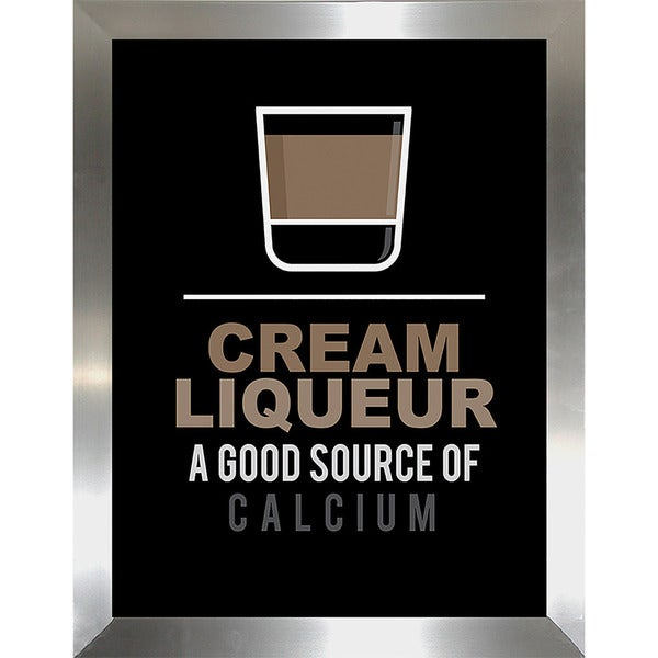 """Cream Liqueur"" Framed Wall Art"