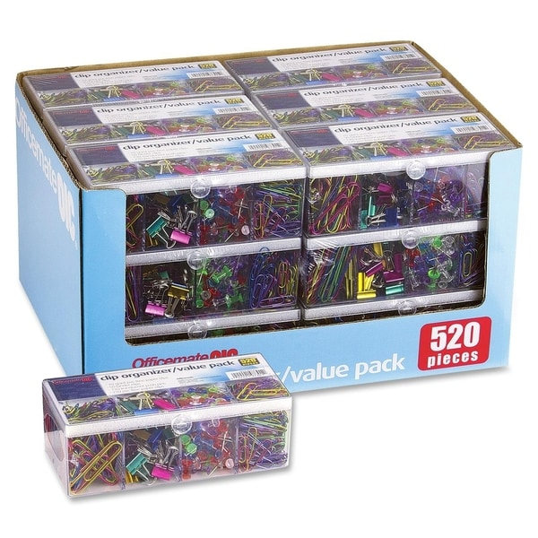 OIC Clip Organizer/Value Pack - (520/Pack)
