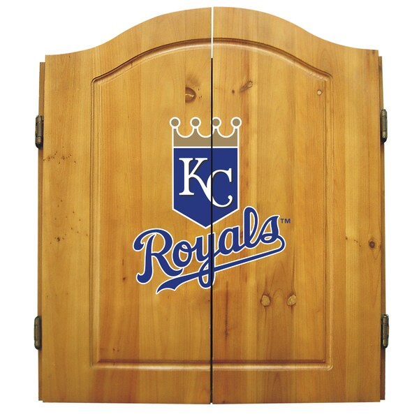 Kansas City Royals MLB Dart Cabinet 21845994